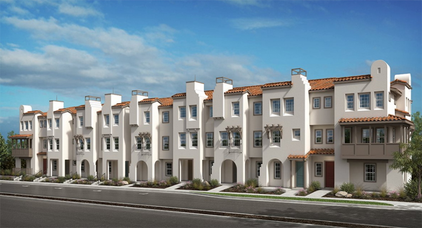 New homes townhomes in San Diego, Carmel Valley and Pacific Highlands Ranch. 3 story townhomes. New construction homes.