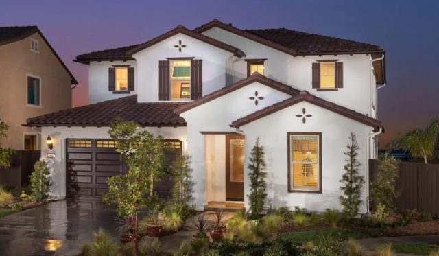 New homes in Vista, CA. Laurel Pointe. 1509 Leonis Place