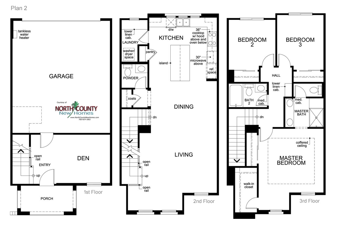 New Townhomes In Pacific Highlands Ranch, Carmel Valley, San Diego, CA. New