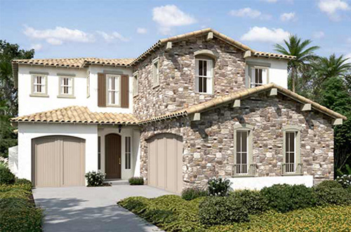 New homes in San Diego at Pacific Highlands Ranch. single family new construction homes for sale. Carmel Valley area of North County San Diego. 3 floor plans.