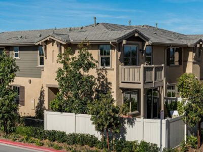 New homes in Oceanside, CA. Brisas at Pacific Ridge. New townhomes. Interior pictures of model homes. Oceanside real estate. North County San Diego new homes for sale.