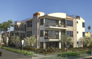 New condos by the beach in downtown Oceanside. Near the beach. New homes in Oceanside, CA. Pacific Sands