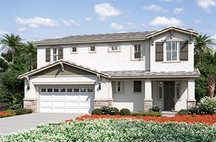 New single family homes in San Marcos, CA. One and two story homes for sale. New construction.