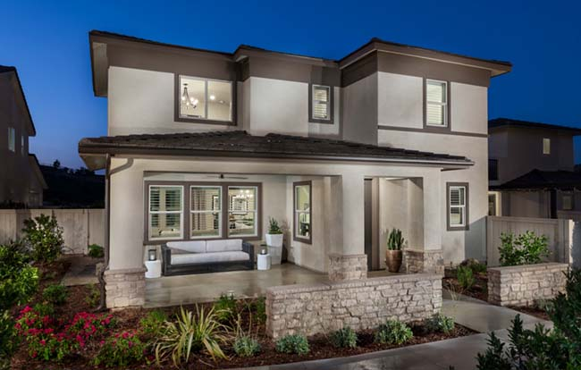 New homes in Escondido and north county San Diego at Cavalli. Located in Harmony Grove Village. New construction single family homes for sale.