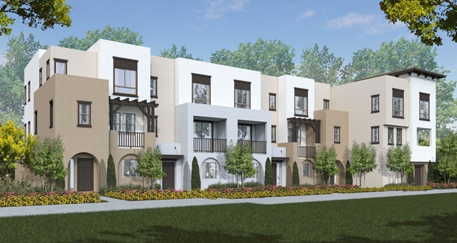 SOLARA & VERANAO AT SKYLINE new homes in Vista, CA. New construction townhomes for sale in North County San Diego