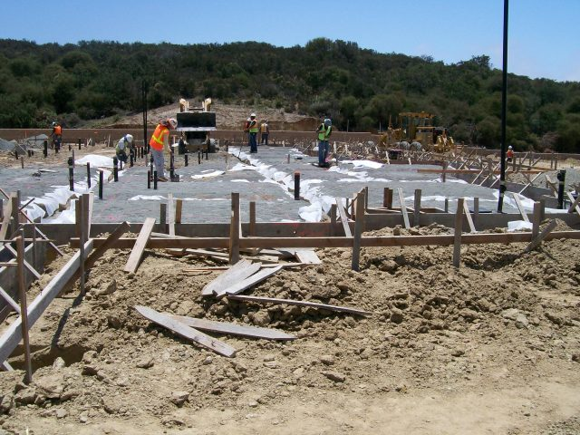Picture of site work at Vitalia in La Costa by Shea Homes