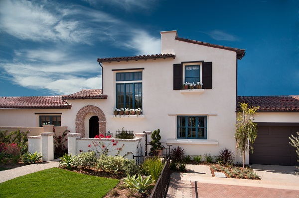 Exterior of Plan 2 - Arista AT The Crosby new homes for sale in Rancho Santa Fe