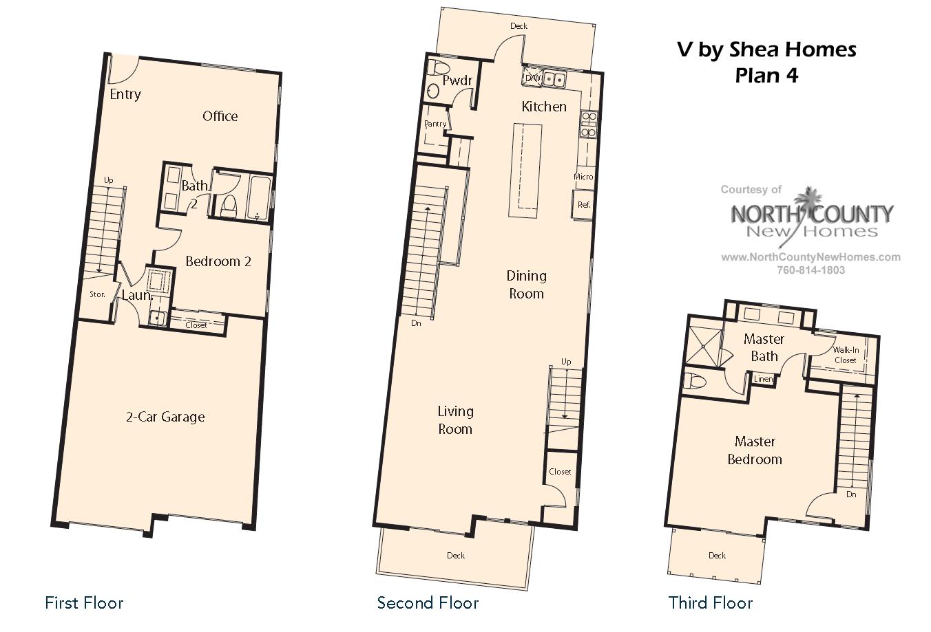 V by Shea Homes in Leucadia - Floor Plan 4 - North County ... Shea Homes Floor Plans Bed Bath on 3 bed 3 bath floor plans, 5 bed 3 bath floor plans, 6 bed 3 bath floor plans, 2 bed 1 bath floor plans, bathroom floor plans, 4 bedroom home floor plans,