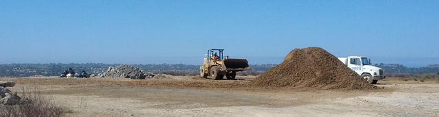 new homes in La Costa under construction at Montecina by Taylor Morrison