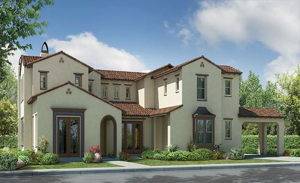 new homes in Encinitas at Fiore