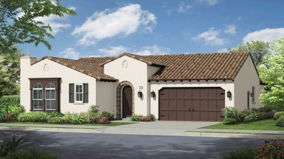 Montecina Plan 1 single Story New Home in carlsbad, CA