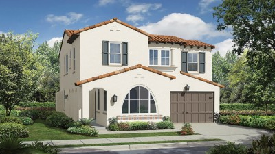 New homes in Carlsbad at Montecina. Picture of Plan 3 exterior at Montecina