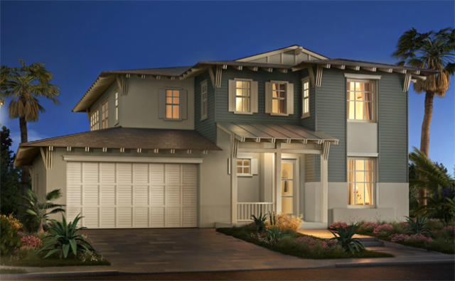 New construction single story homes in North County San Diego and Encinitas at One Channel Island.
