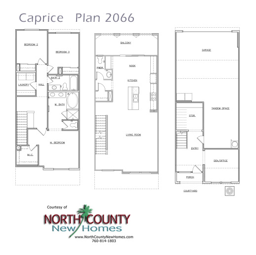 Townhouse Floor Plan 3 Car Garage Google Search: New Homes In San Marcos