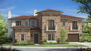 New homes in Rancho Santa Fe Estancia at Cielo. New single story and two stroy homes in Rancho Santa Fe, California