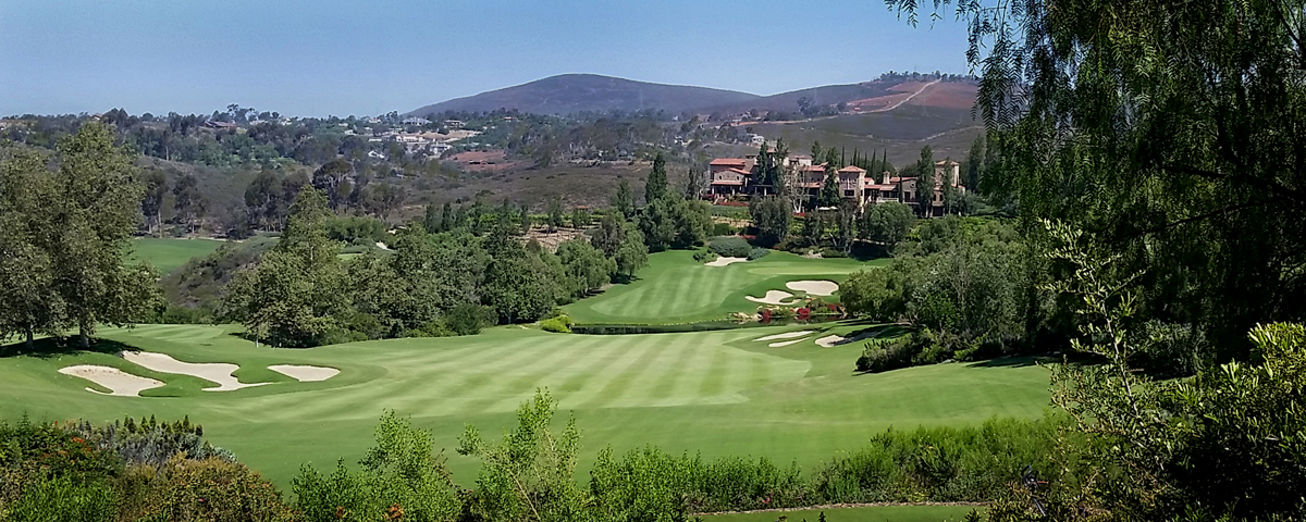 The Brdiges golf and homes in Rancho santa fe