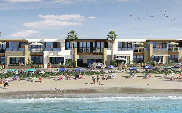 New condos on the beach in Oceanside at700 South Strand