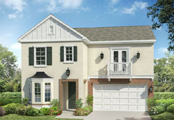 New homes in Carmel Valley - San Diego at Elms by Taylor Morrison. Picture of new construction home model Plan 2