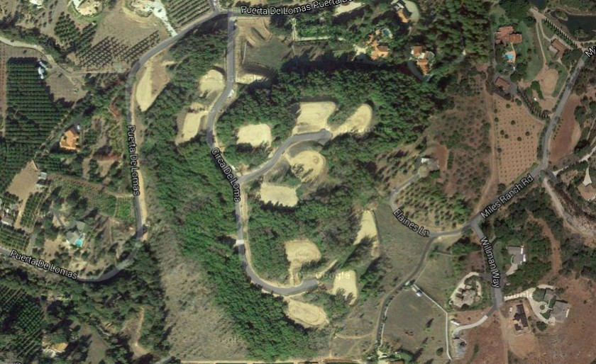 Site of Circa De Loma. new homes for sale in Fallbrook, CA.