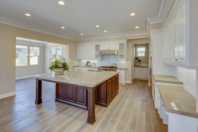 picture of kitchen at New Crest Court. new homes in Carlsbad for sale
