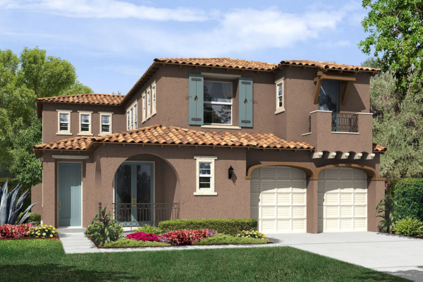 New homes in Pacific highlands Ranch, Carmel Valley at Meadowood by Hallmark Communities.