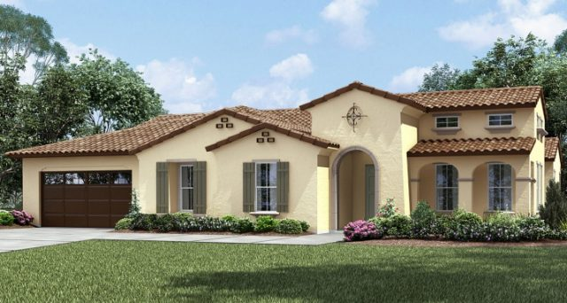 New Homes in Vista at Quintessa Single story homes for sale