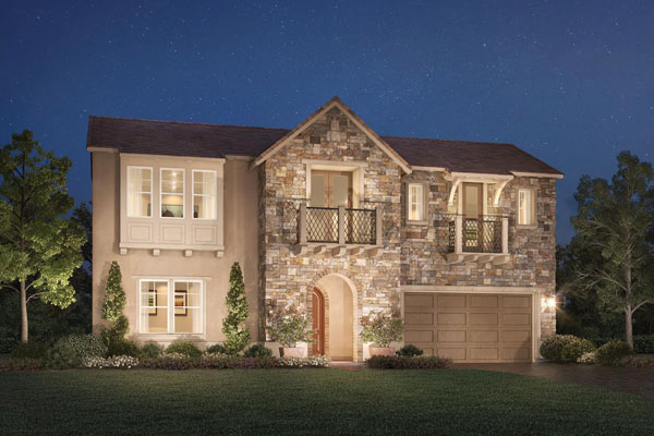 Terraces atRobertson RAnch new homes in Carlsbad by Toll Brothers