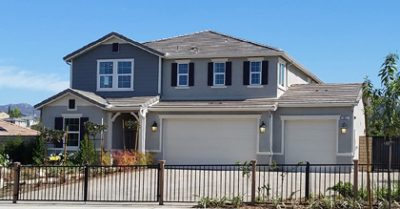New homes in Escondido, CA at Lexington by KB Home. One and two story new single family homes.