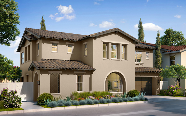 New homes in San Marcos, CA. Candela at Rancho Tesoro. New single family homes for sale. New construction homes. Plan 3C