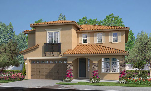 Bridlegate New homes in Fallbrook at Horse Creek Ridge. New construction single family homes.