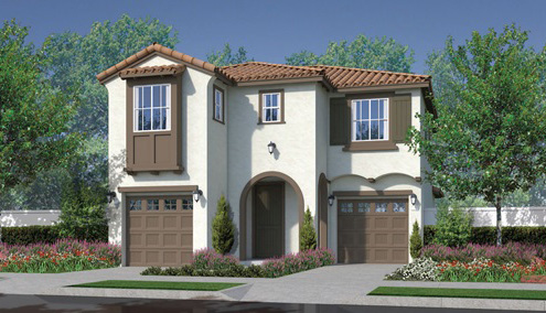 Brindle Pointe New homes in Fallbrook at Horse Creek Ridge. New construction single family homes.