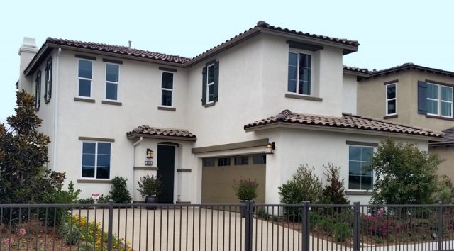 Francia at Mission Lane. New homes for sale in Oceanside, CA. New construction single family homes.