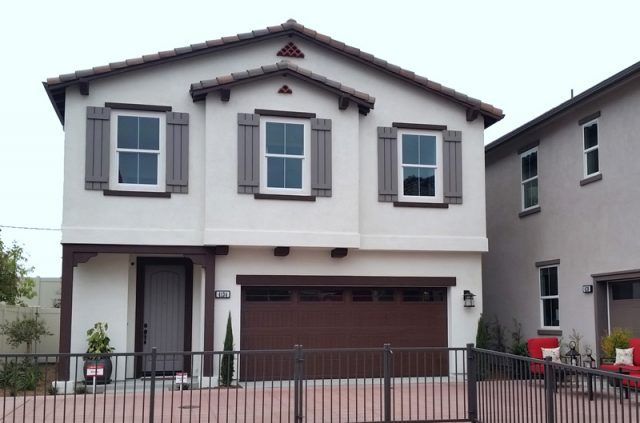 Pepper Tree at Mission Lane. New homes for sale in Oceanside, CA. New construction homes.