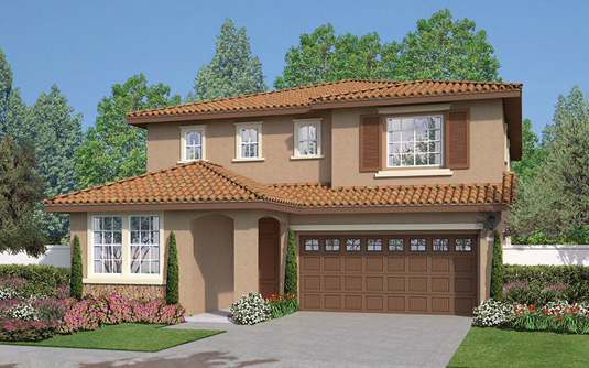 Westbury New homes in Fallbrook at Horse Creek Ridge. New construction single family homes.