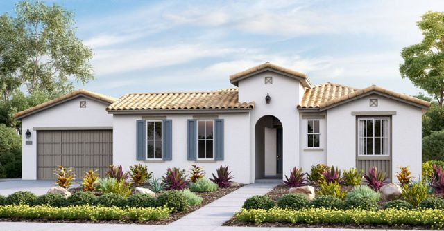Whittingham New homes in Escondido and Harmony Grove Village. North County San Diego new construction homes for sale. 1 and 2 story new homes.