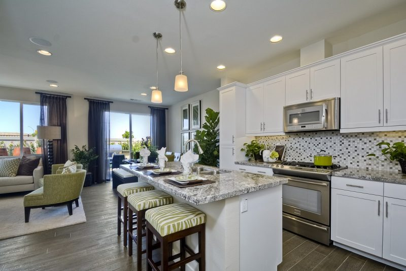 New townhome sold in San Diego, CA at Maravilla