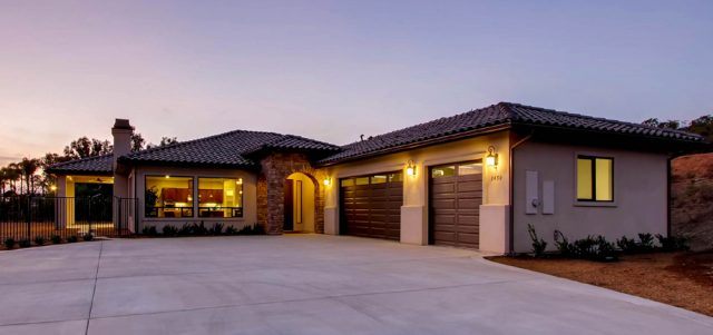 Grand View Estates.. New homes for sale and under construction in Valley Center, CA. North county San Diego new homes. single family homes with 2 acre lots.