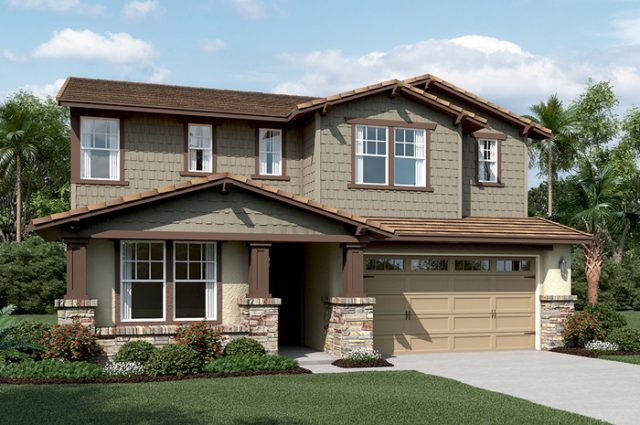 New homes for sale in Fallbrook, CA at Promontory. Horse Creek Ridge. New single family homes. San Diego North County new homes