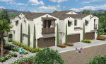 New homes in Carlsbad, CA. New townhomes for sale. Blue Sage at The Preserve. 2 story new townhomes located in San Diego North County.