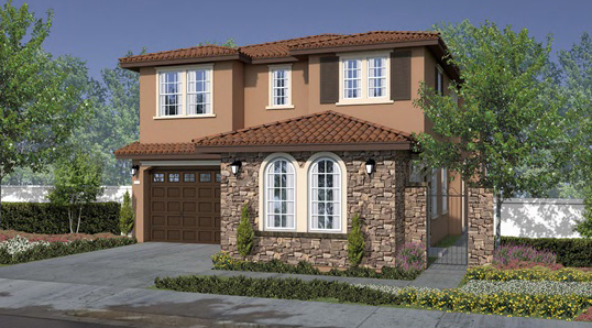 New homes in Fallbrook, CA. Saratoga Estates by DR Horton. Horse Creek Ridge. New construction homes in San Diego North County. 2 story single family homes.