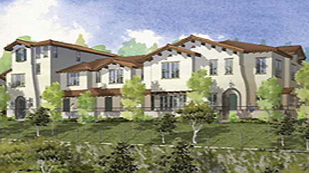 new homes and townhomes in Vista, CA. New construction homes for sale. Peak at Delphy's Corner