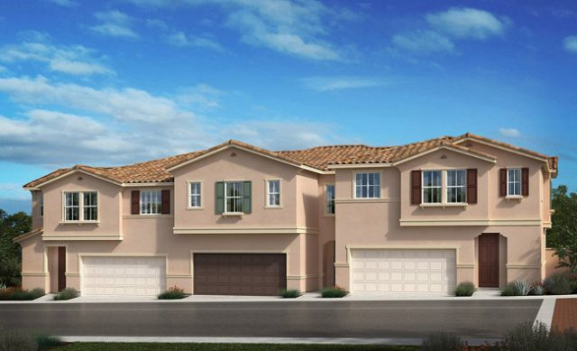 New homes and townhomes in Vista, CA. New construction homes at Sierra in Vista and North County San Diego
