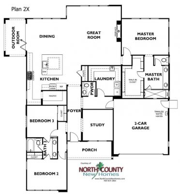 New homes in Encinitas, CA. One story and two-story single-family homes for sale. New construction homes. San Diego north county new homes.