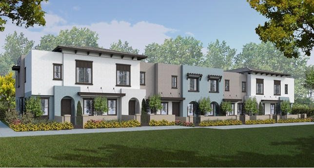 SOLARA AT SKYLINE new homes in Vista, CA. New construction townhomes for sale in North County San Diego