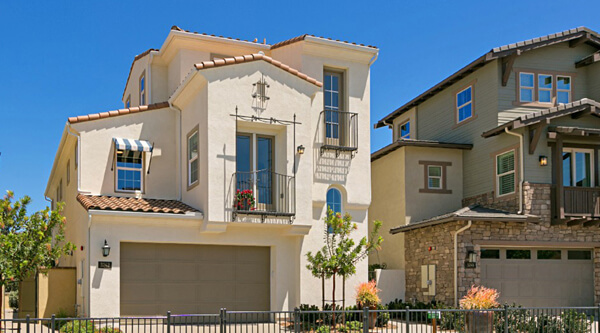 New homes in Carlsbad. Cypress at the Preserve. Detached single family homes. New construction. San Diego North County new homes.