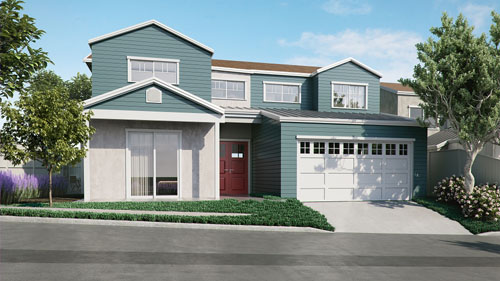New homes in Cardiff By The Sea. North County San Diego new homes. New construction homes.