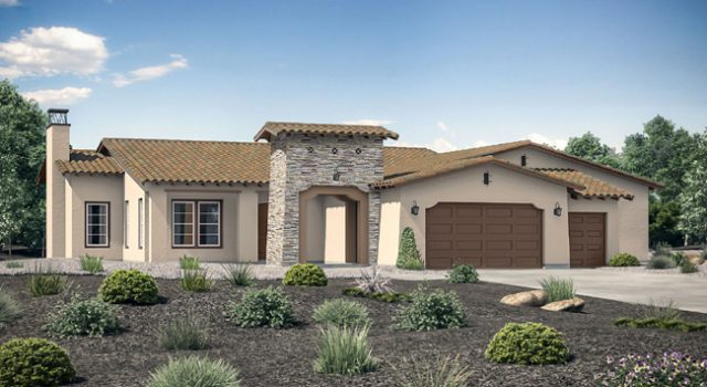 Valencia Estates. New homes in Valley Center, CA. Single story homes. New construction homes in San Diego North County.